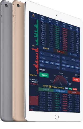 Trading tab